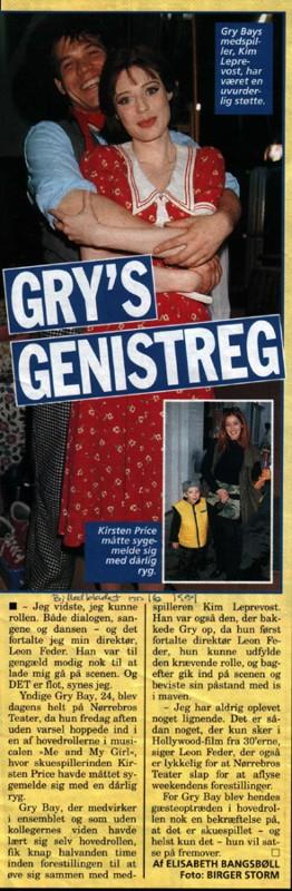 Gry's genistreg (Billedbladet 1999)