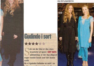 Gudinde i sort (Billedbladet 2006)