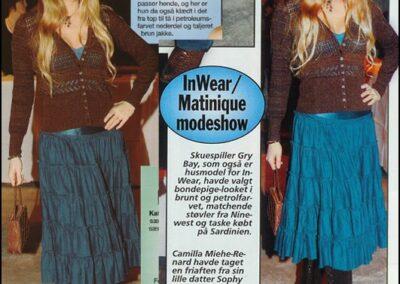InWear/Matinique modeshow 2006